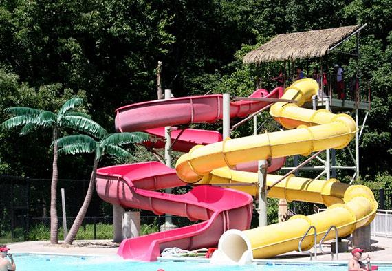 Volcano Island Indoor Water Park Resort