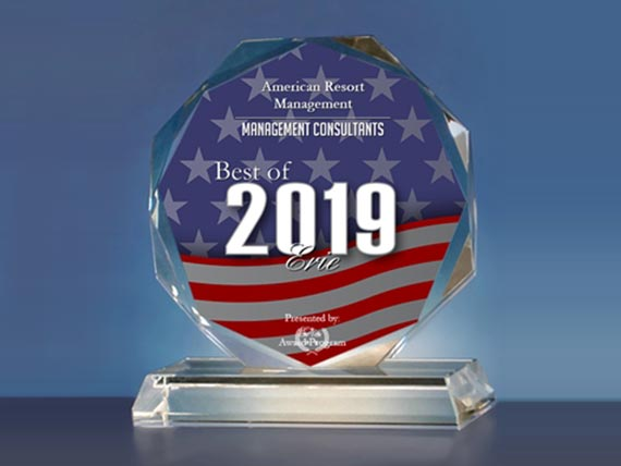 American Resort Management Receives 2019 Best of Erie Award