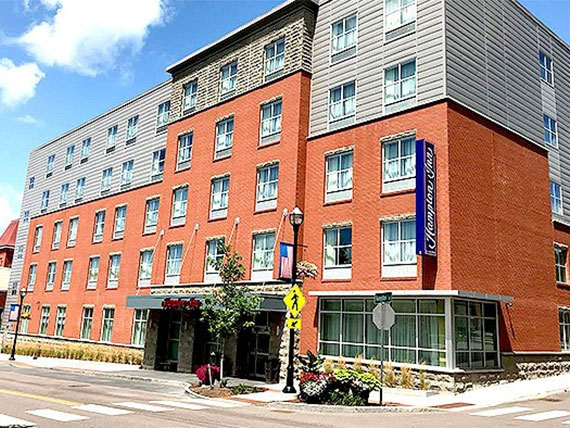 Hampton Inn St. Albans was recognized as a